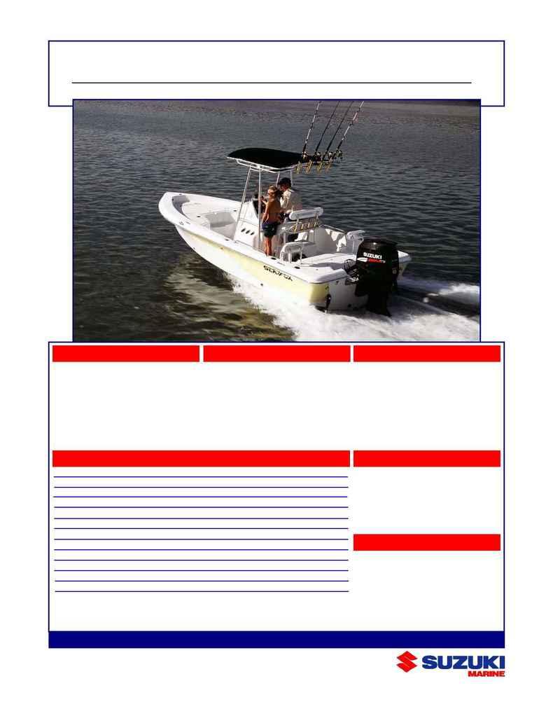 Suzuki - seafox df 175s 1
