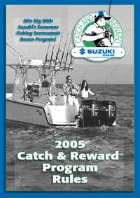 Suzuki - catch release program rules