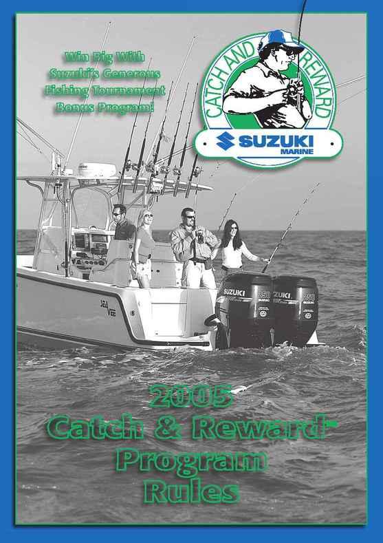 Suzuki - catch release program rules