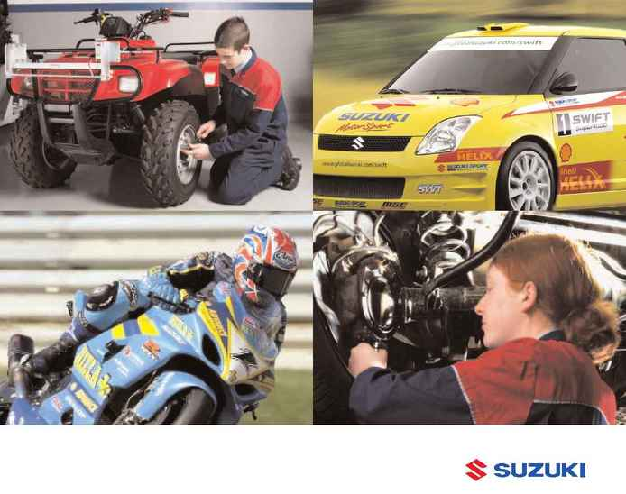 Suzuki - app brochure