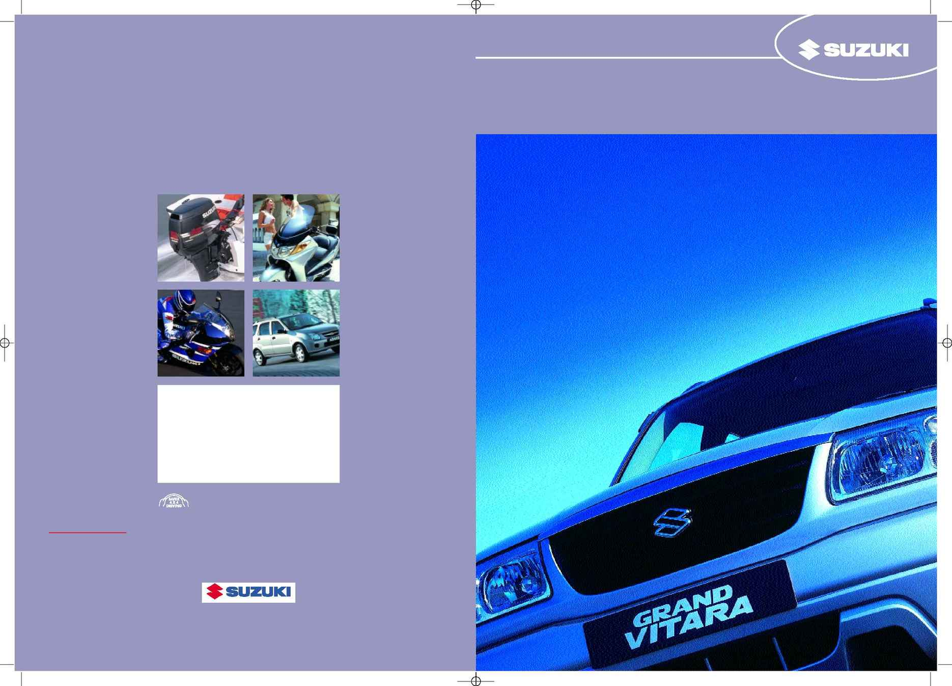 Suzuki - PDF Grand Vitara Range