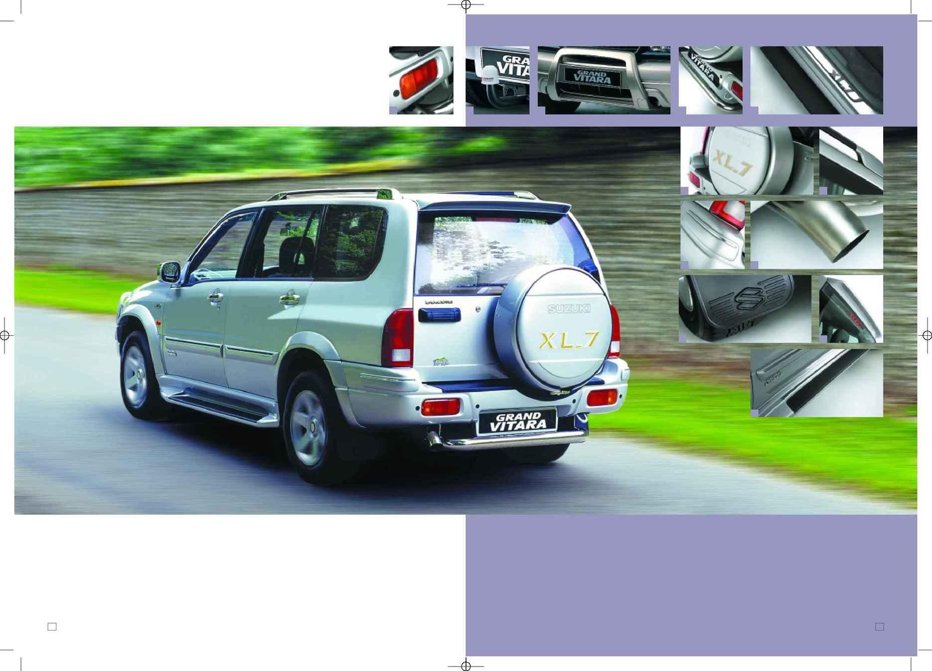 Suzuki pdf grand vitara range