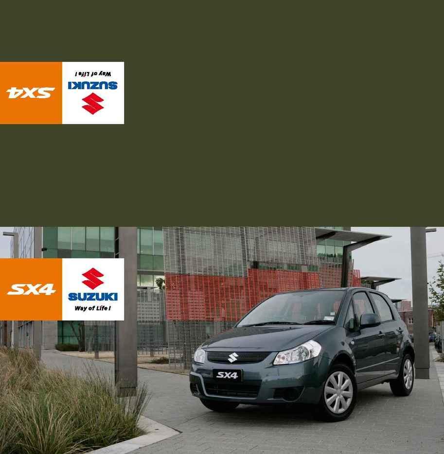 Suzuki - sx 4 1.6 comp