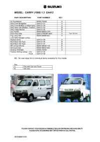 Suzuki - Carry (1999) 1.3 GA 413