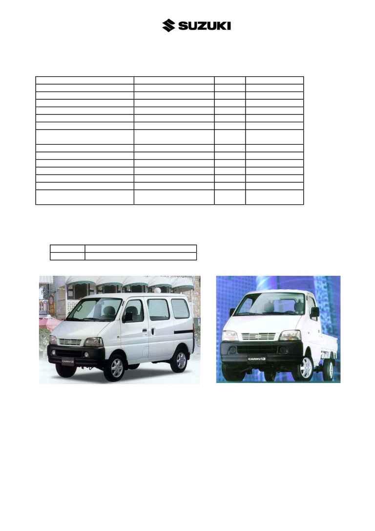 Suzuki - Carry (1999) 1.3 GA 413