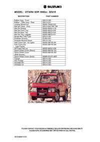 Suzuki - Grand Vitara 5dr 1600cc SE 416