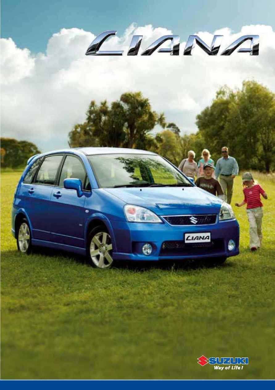 Suzuki - Liana Brochure