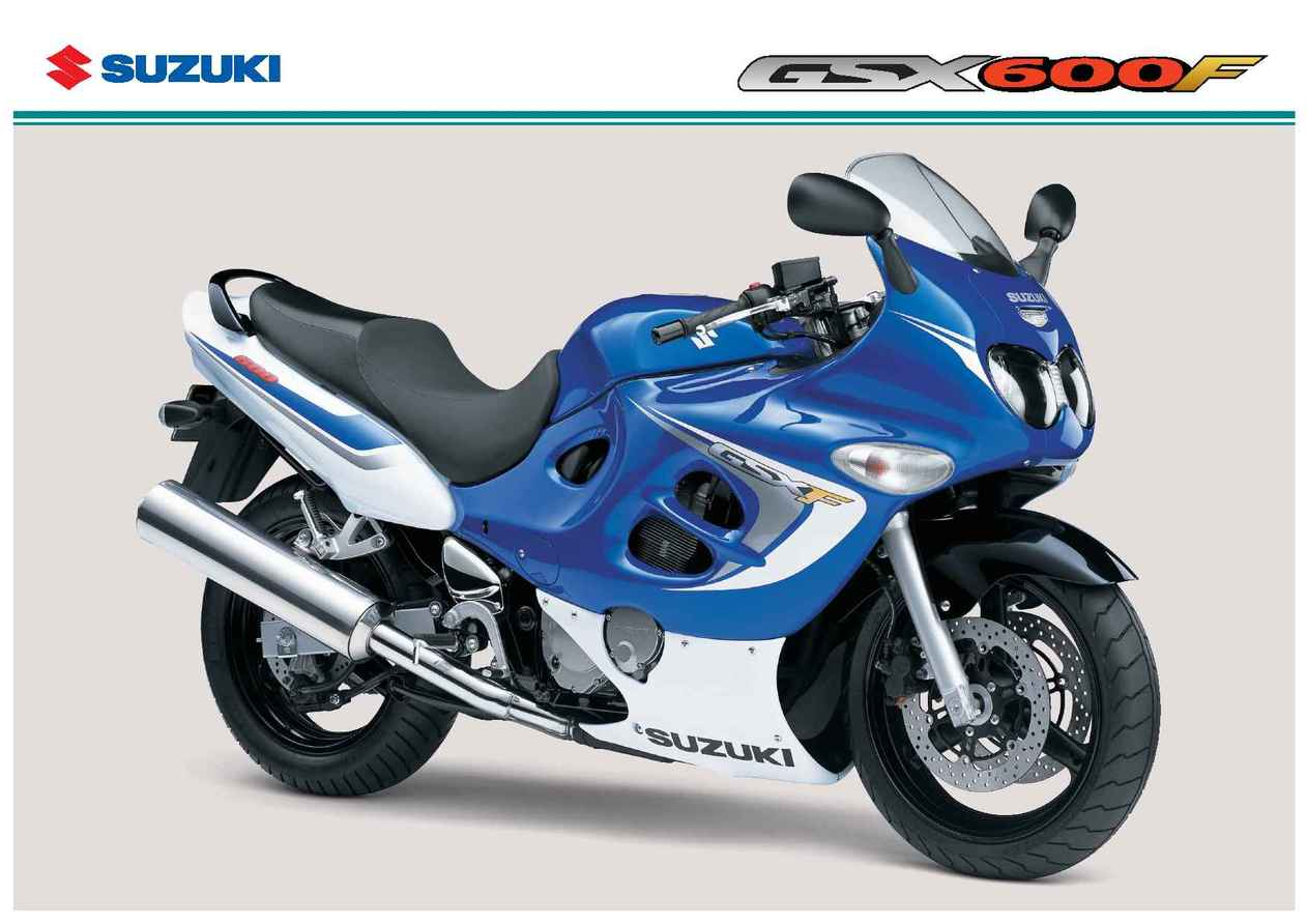 Suzuki - GSX 600 FK 6