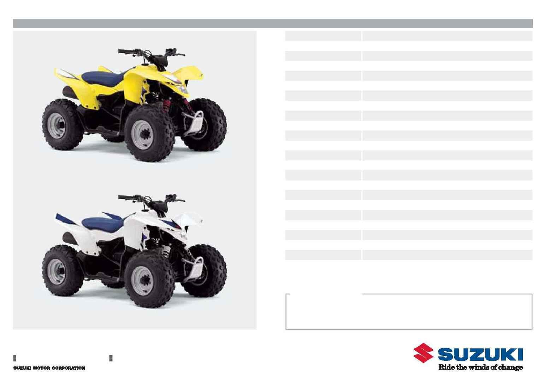 suzuki quadsport z90 owners manual