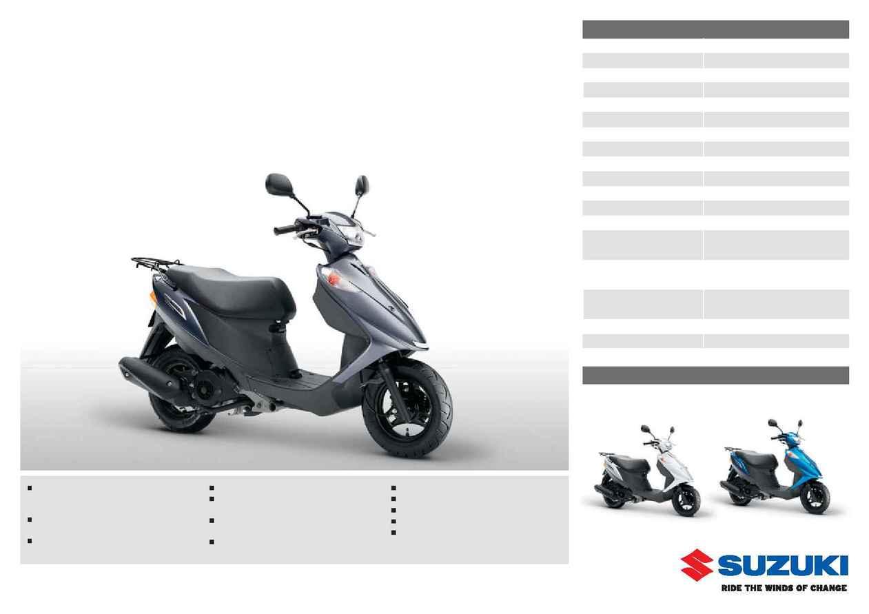 Suzuki Uz 125 G Page 2 Free Online Doc