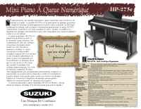 Suzuki - hp 275e brochure fr