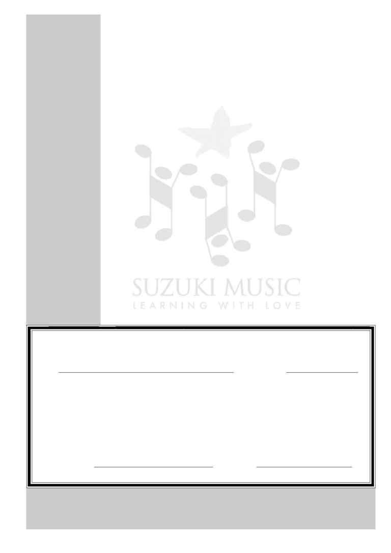 Suzuki - All Inst PD 310705