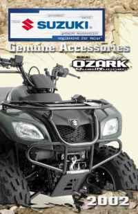 Suzuki - 2002 ozark
