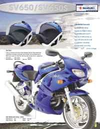 Suzuki - 2002 sv 650