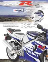 Suzuki - 2002 gsxr