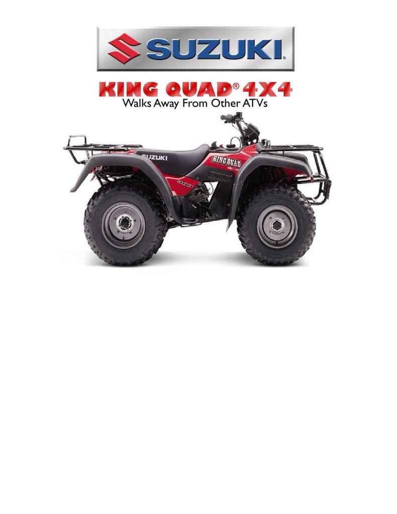 Suzuki - bro kingquad