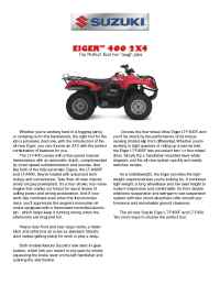 Suzuki - bro qu 400