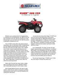 Suzuki - bro qu 400f