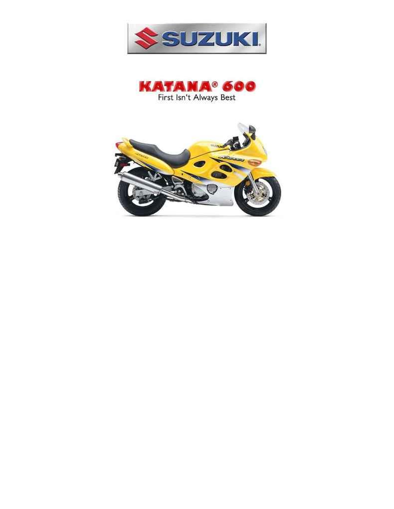 Suzuki - bro kat 600