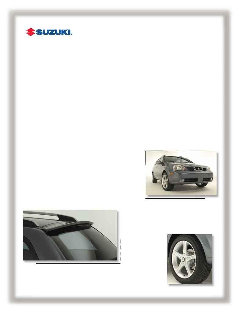 Suzuki - chroma wagon 1 sheet