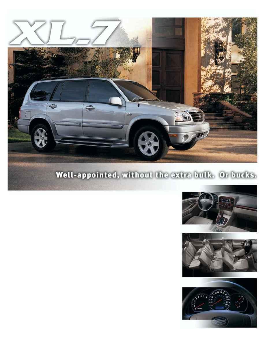 Suzuki - xl 7brochure