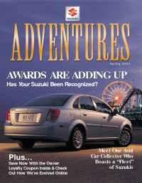 Suzuki - adventures 2004 spring