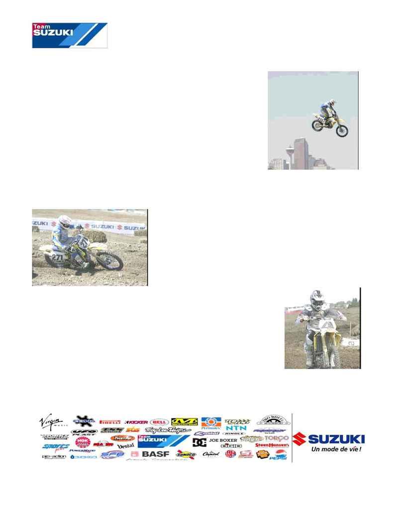 Suzuki - MC 00008 06 FR Injuries Continue to Plague Team Suzuki