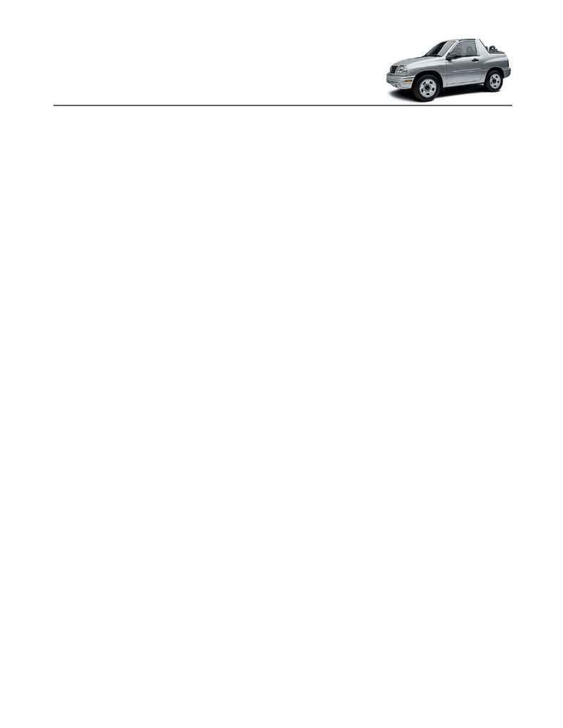 Suzuki - Vitara conv specs