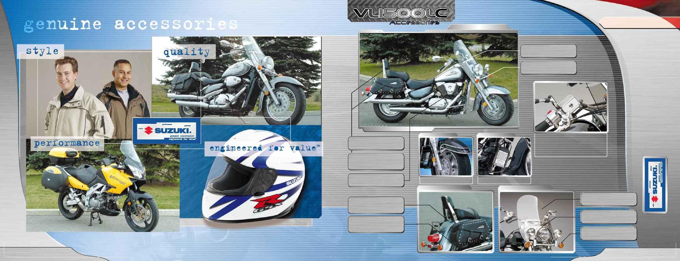 Suzuki - 2003 mc Access brochure E