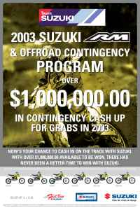 Suzuki - SUZ CONTINGENCY POSTER ENGLISH