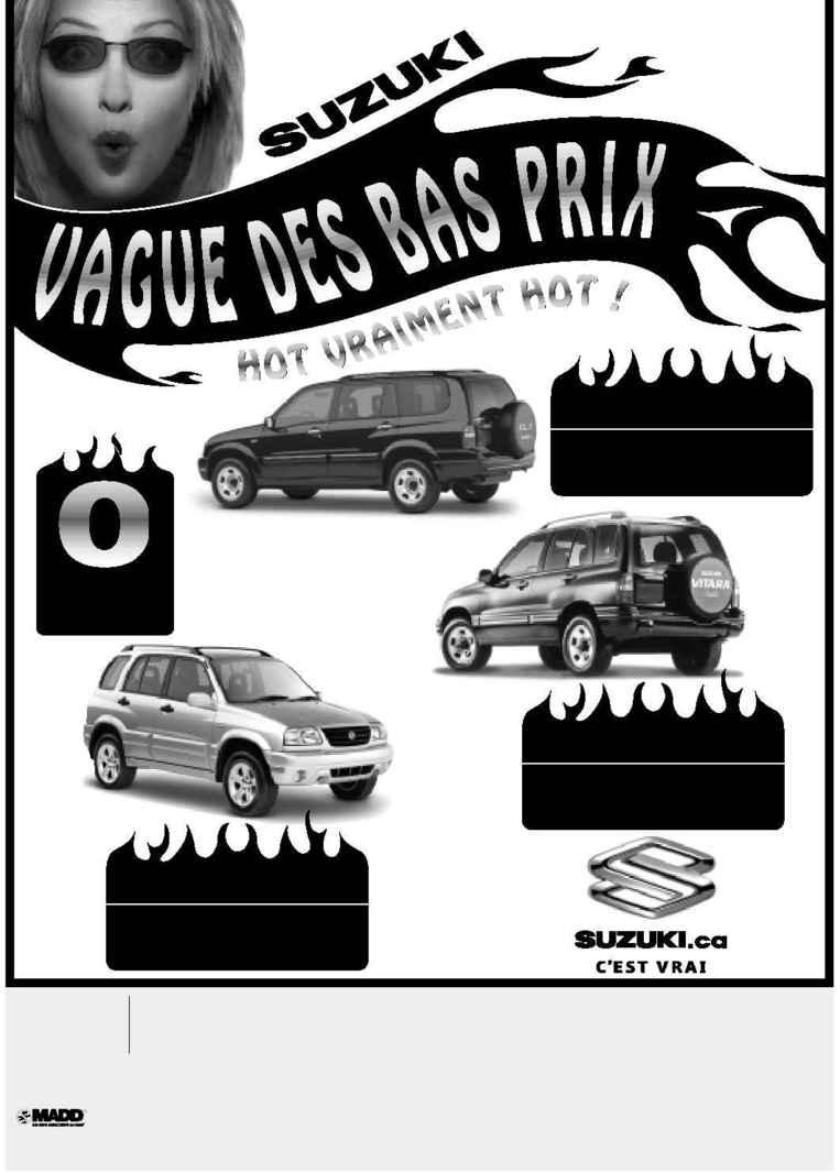 Suzuki - HEAT WAVE June French