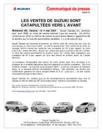 Suzuki - CCG 03 04 F