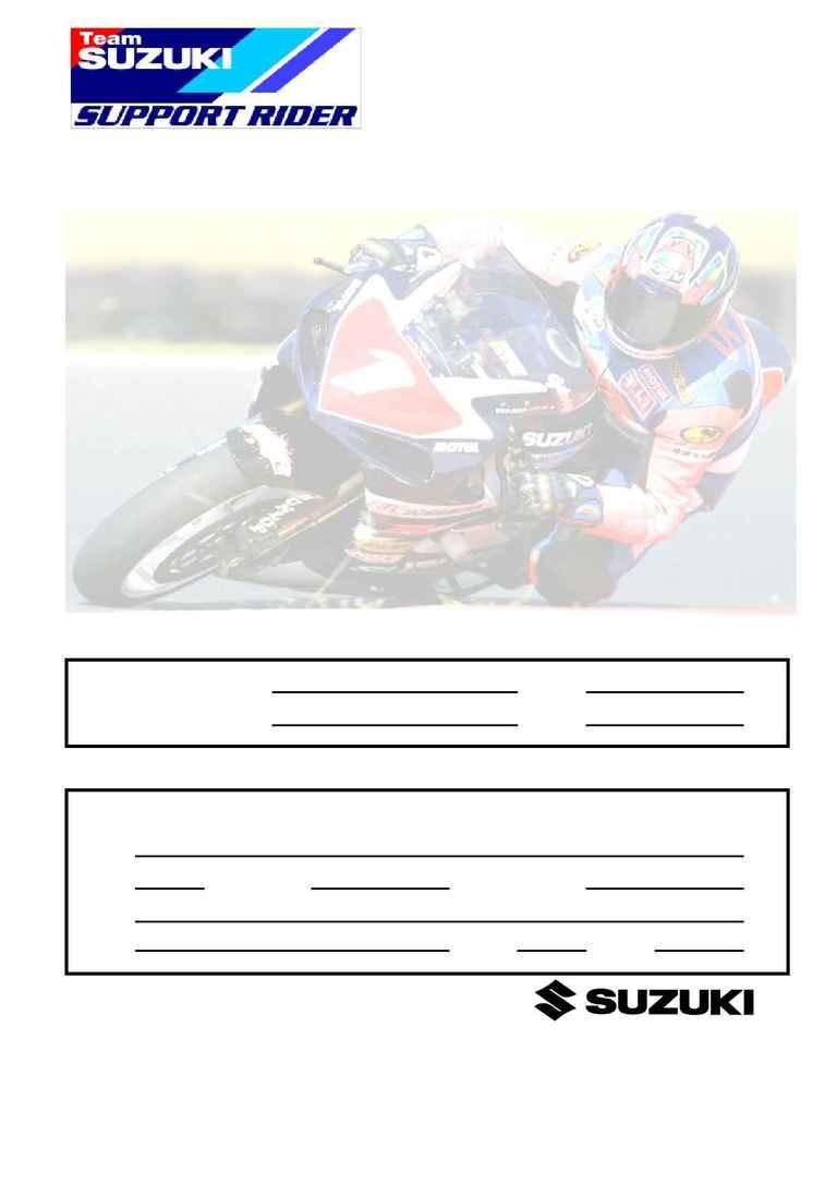 Suzuki - TSSR 2003