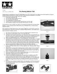 Tamiya - 43508 X manual