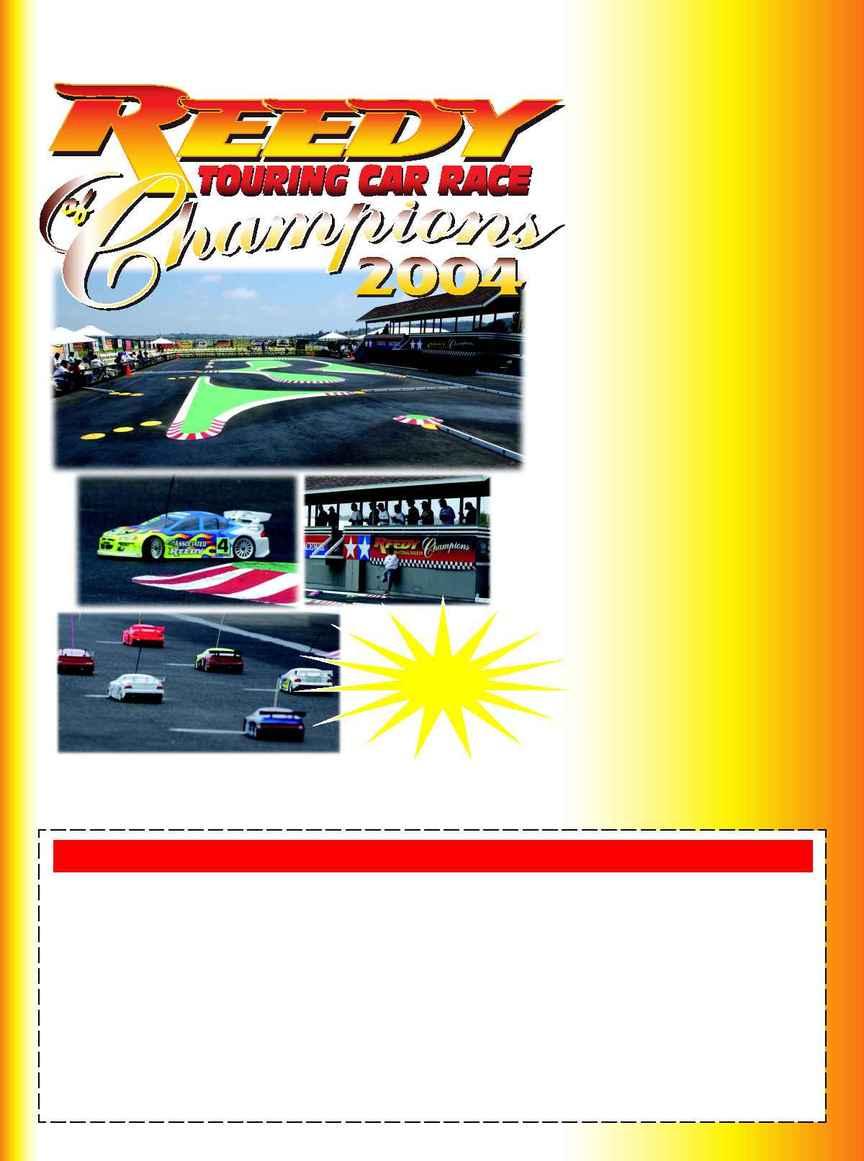 Tamiya - Reedy Touring 2004 Ad