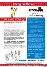 Lego - Energyin Motion