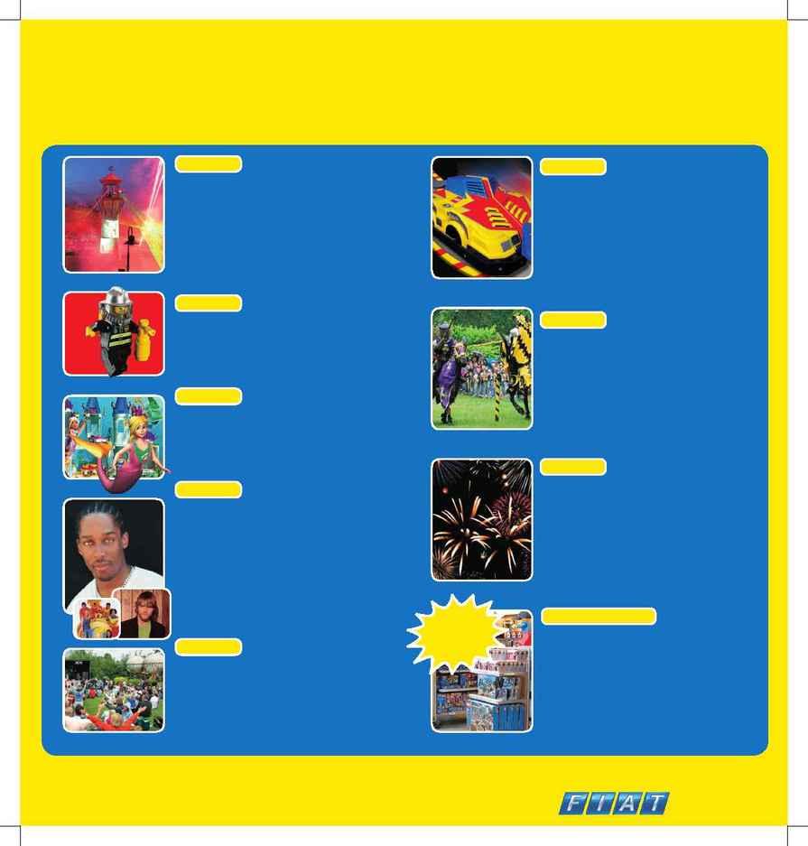 Lego - LLW events calendar 2005