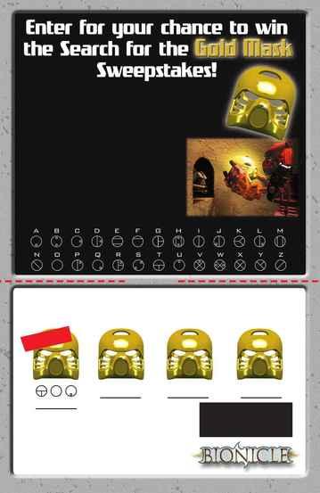 Lego - mask entry rules
