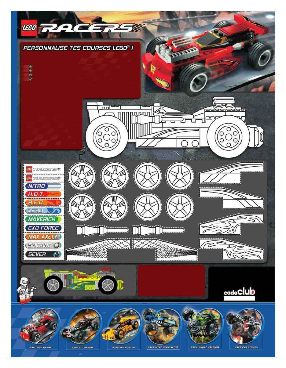 Lego - racers