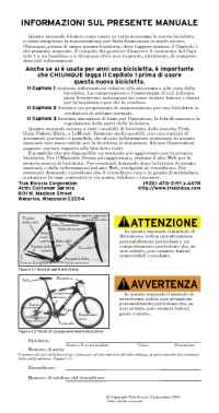 Trek Bicycle Corporation - 04 bike owners manual it