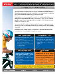 Trek Bicycle Corporation - 06 TK Carbon Care Flyer