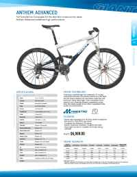 Giant bicycles - Anthem Advanced