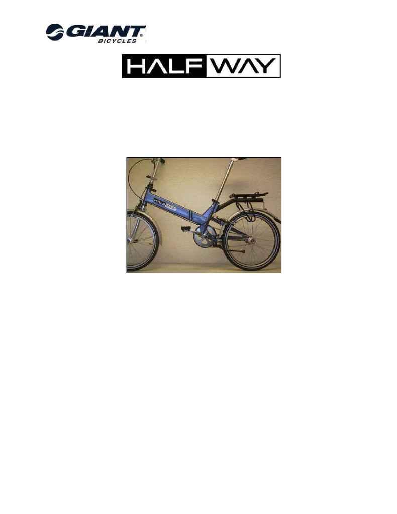 Giant bicycles - 2001 Halfway NL