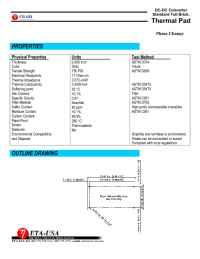 ETA-USA - phase thermal pad mv