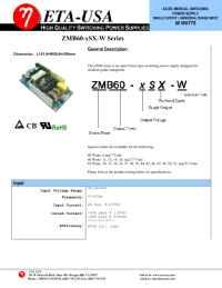 ETA-USA - ZMB SX W