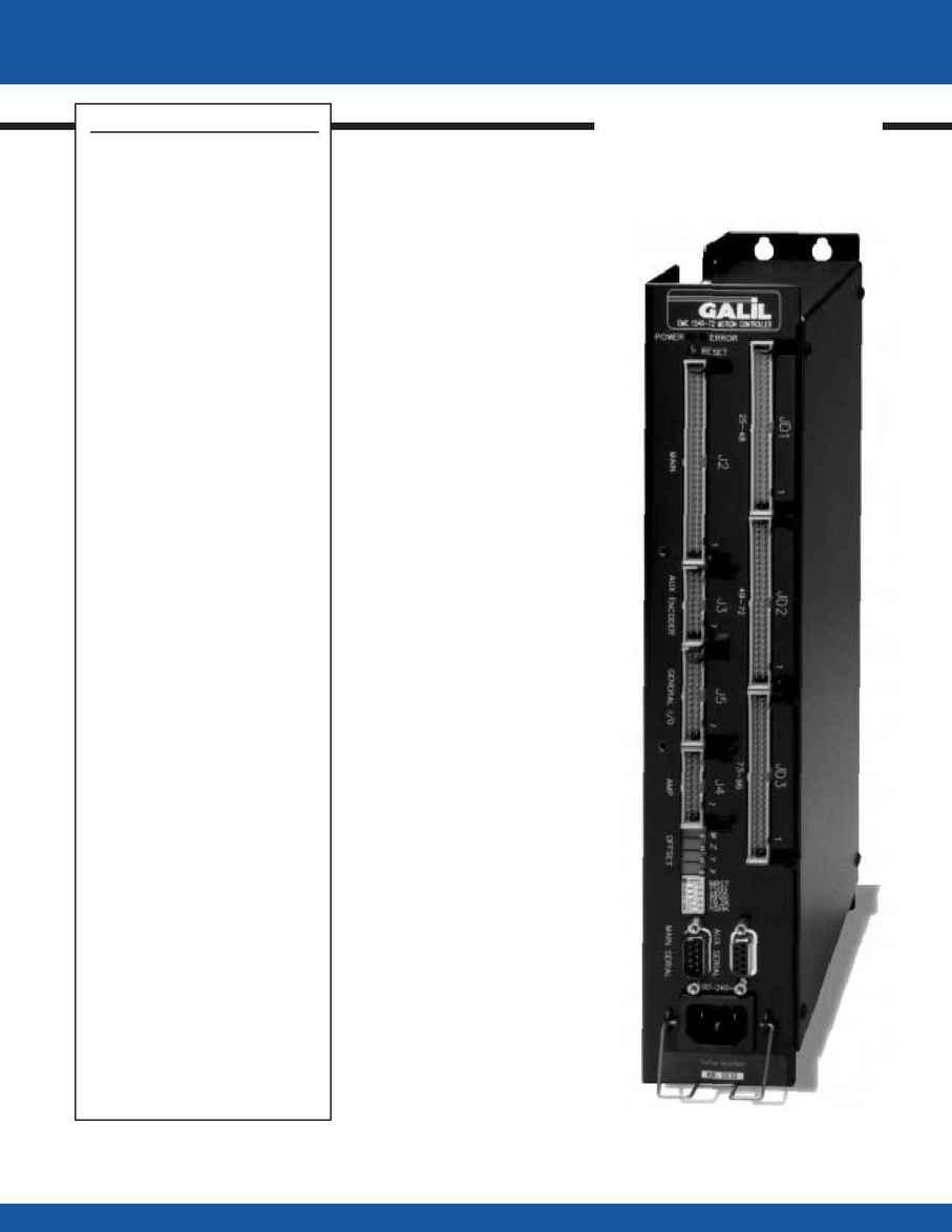 Galil Motion Control - catalog