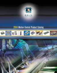Galil Motion Control - 2004catalog