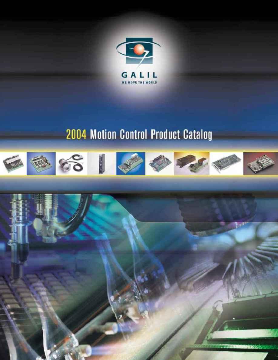 Galil Motion Control - 2004catalog