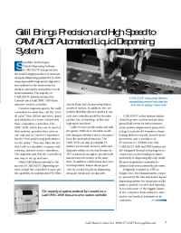 Galil Motion Control - camalot