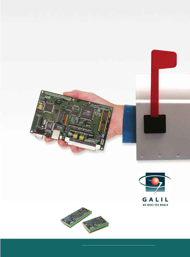 Galil Motion Control - ethernet dmc 21x 2
